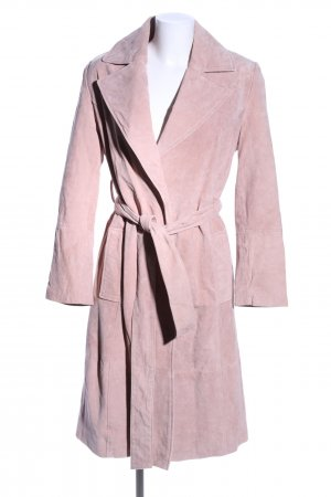 Mint&berry Leather Coat pink business style