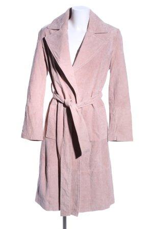 Mint&berry Leren jas roze zakelijke stijl
