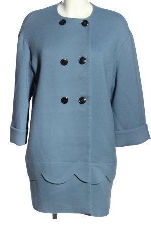 Mint&berry Long-Blazer blau Casual-Look