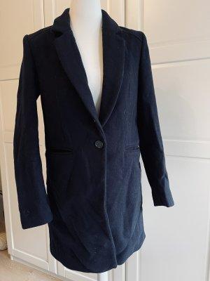 Mint&berry Cappotto in lana blu scuro