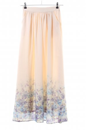 Mint&berry Maxi Skirt flower pattern elegant