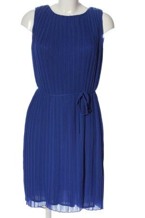 Mint&berry Midikleid blau Streifenmuster Casual-Look