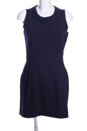 Mint&berry Etuikleid blau Business-Look