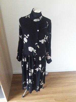 Mint&berry Sukienka midi biały-czarny