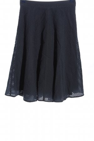 Mint&berry Spódnica midi niebieski Na całej powierzchni W stylu casual