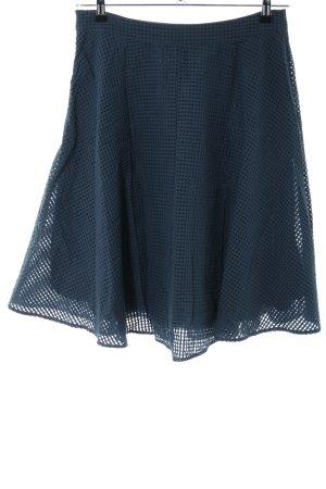 Mint&berry Midirock blau Casual-Look