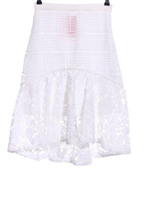 Mint&berry Spódnica midi biały W stylu casual