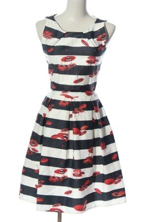 Mint&berry Mini vestido estampado repetido sobre toda la superficie look casual