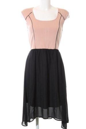 Mint&berry Minikleid schwarz-nude Elegant