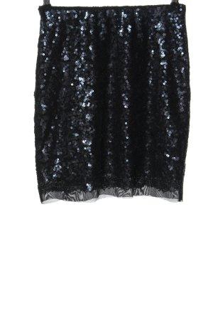 Mint&berry Minifalda negro elegante