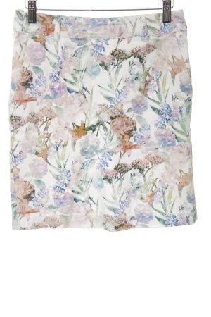 Mint&berry Minirock Blumenmuster Casual-Look