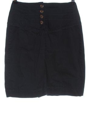 Mint&berry Mini-jupe noir style décontracté