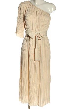 Mint&berry One-Shoulder-Kleid creme Allover-Druck Elegant