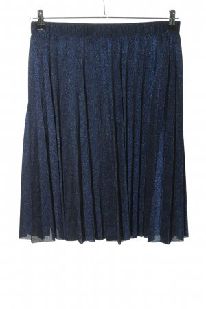 Mint&berry Pleated Skirt blue flecked elegant