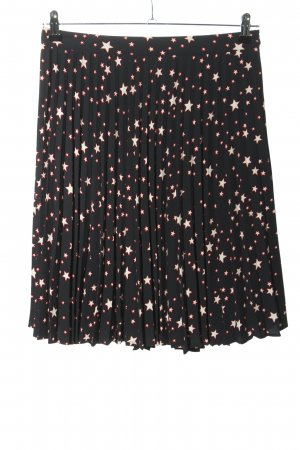 Mint&berry Pleated Skirt allover print casual look