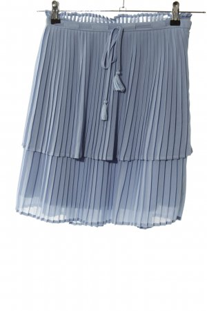 Mint&berry Falda plisada azul look casual