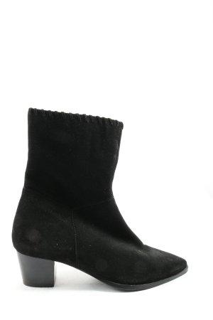 Mint&berry Reißverschluss-Stiefeletten schwarz Casual-Look