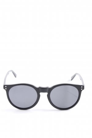 Mint&berry Round Sunglasses black casual look
