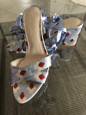 Mint&berry Sandaletten blau/rot/weiß