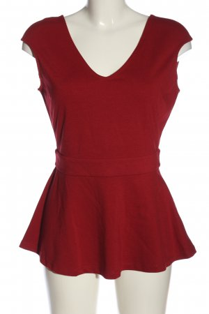 Mint&berry Schlupf-Bluse rot Casual-Look