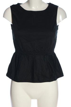 Mint&berry Schlupf-Bluse schwarz Casual-Look
