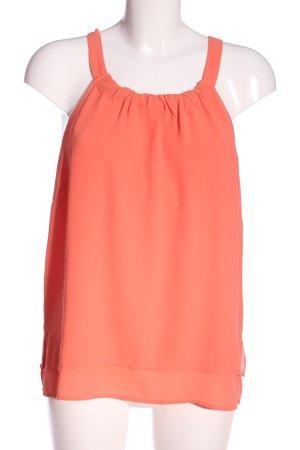 Mint&berry Blusa caída naranja claro look casual