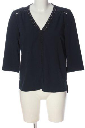 Mint&berry Schlupf-Bluse blau Casual-Look