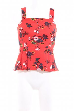 Mint&berry Peplum Top flower pattern casual look
