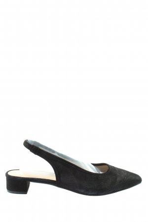 Mint&berry Slingback-Pumps schwarz Casual-Look