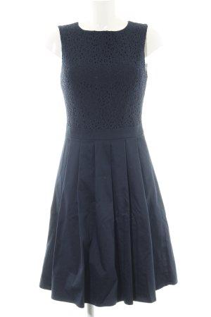 Mint&berry Spitzenkleid blau Blumenmuster Elegant