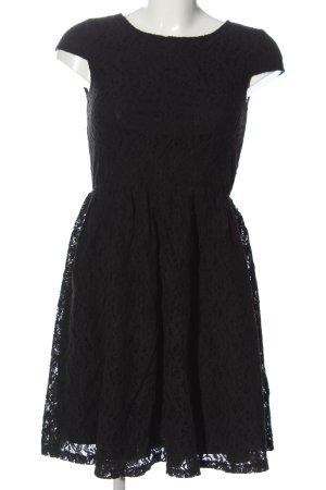 Mint&berry Spitzenkleid schwarz Elegant