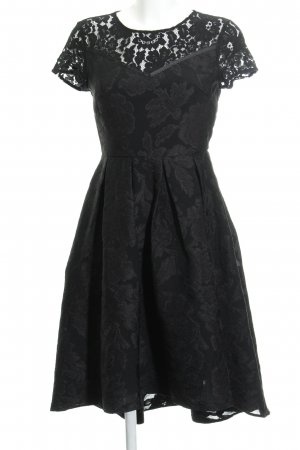 Mint&berry Spitzenkleid schwarz Casual-Look