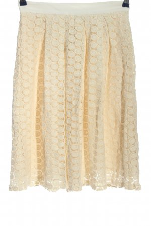 Mint&berry Lace Skirt cream elegant