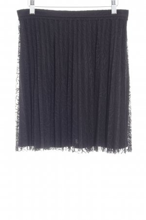Mint&berry Kanten rok zwart elegant