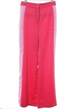 Mint&berry Stoffhose magenta-rosa Stoffeinsätze