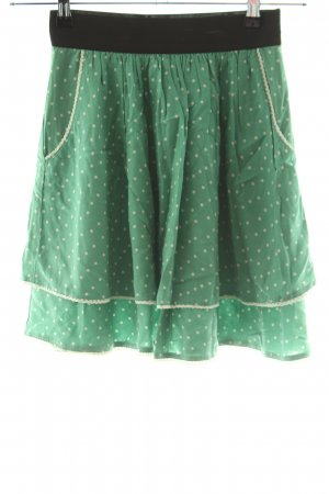 Mint&berry Stretchrock Allover-Druck Casual-Look