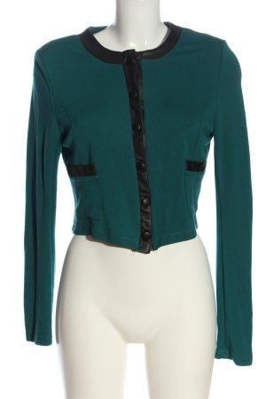 Mint&berry Knitted Blazer green-black elegant