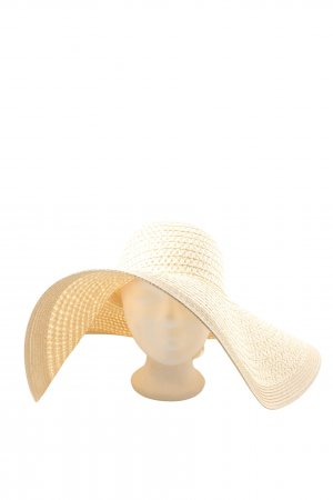 Mint&berry Straw Hat natural white casual look