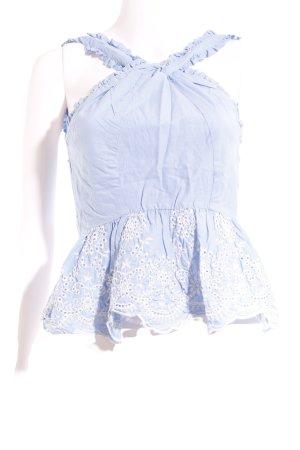 Mint&berry Trägertop himmelblau Casual-Look