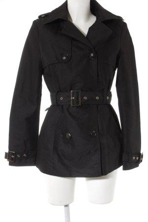 Mint&berry Trenchcoat schwarz Urban-Look