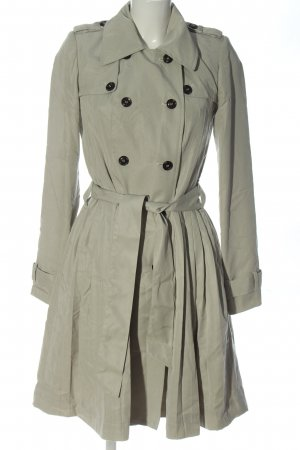 Mint&berry Between-Seasons-Coat light grey casual look