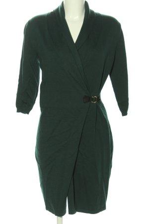 Mint&berry Kopertowa sukienka zielony Elegancki