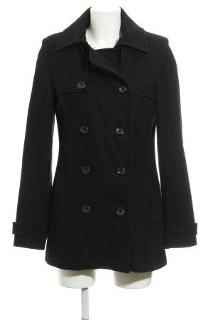 Mint&berry Cappotto in lana nero stile casual