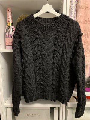Mint&berry Wool Sweater black