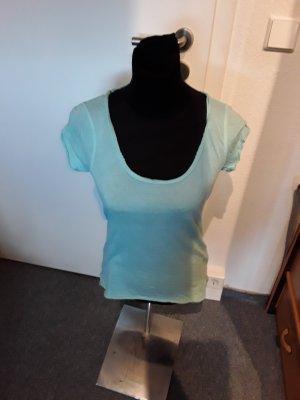 mint-farbenes Tshirt von Tom Tailor in Größe XS