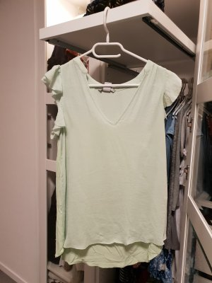 H&M Frill Top mint