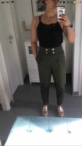 Mint und Berry Hohe Taille Hose