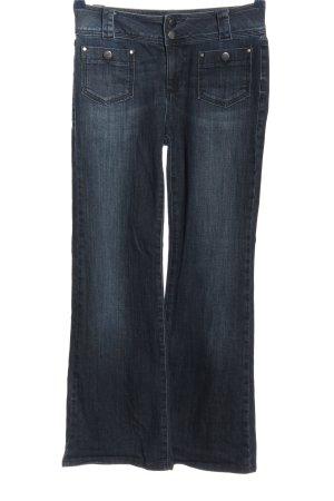 Mint Velvet Jeansschlaghose blau Casual-Look