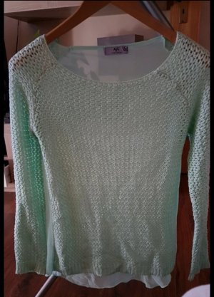 Arizona Crochet Sweater mint
