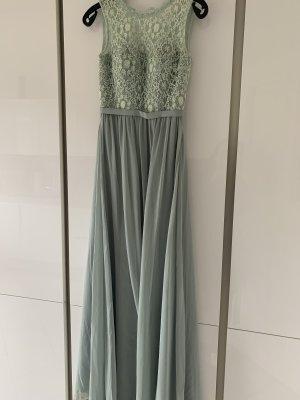 Mintfarbenes Abendkleid Größe 34